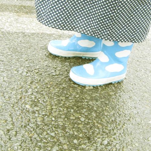王子の長靴とレインコート