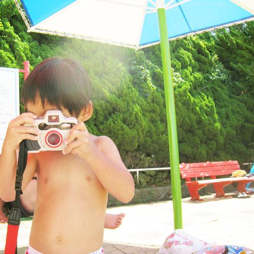 防水カメラ Canon autoboy D5