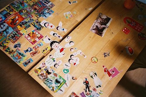 我が家の机
