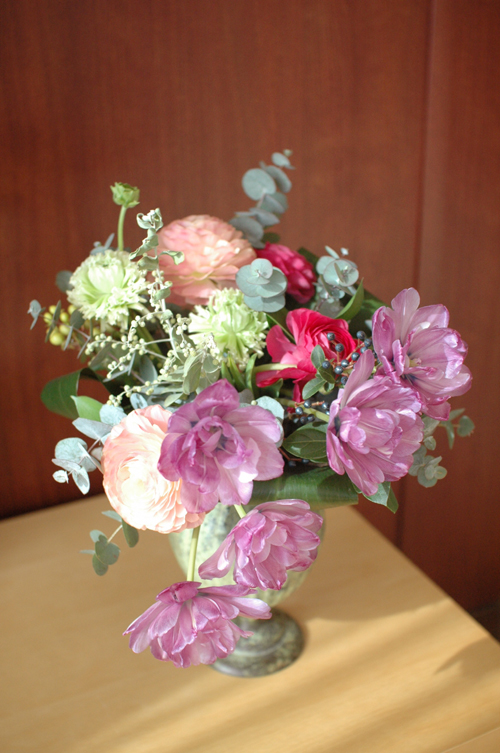 数日後の花束
