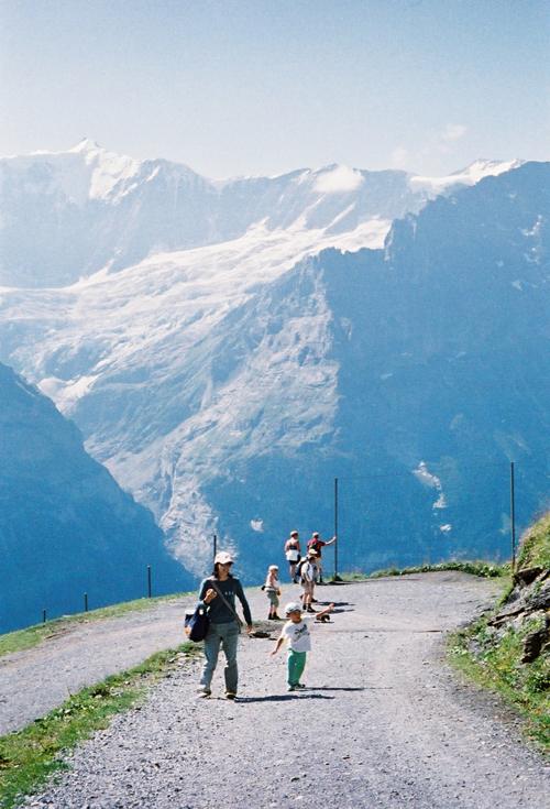 グリンデルワルト バッハアルプゼー ハイキング