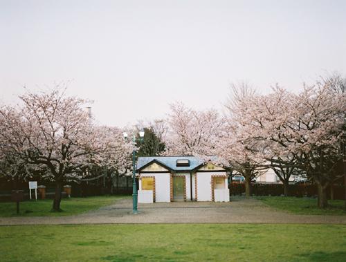 根岸森林公園のトイレ