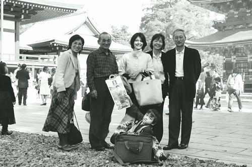 七五三家族