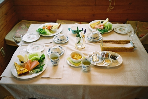 さんどりよんの朝食