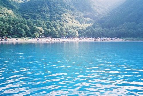 本栖湖ボート