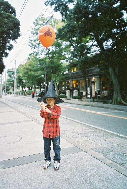 ハロウィン風船GET
