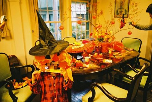 洋館でかぼちゃ