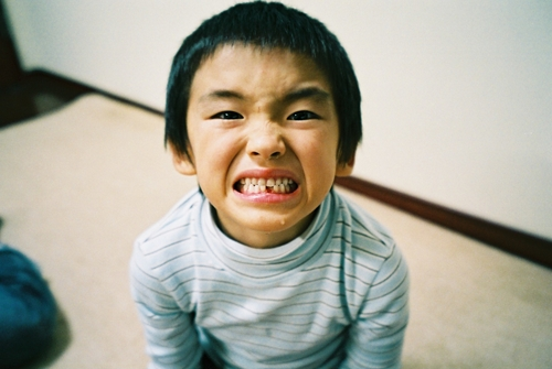 誕生日に歯が抜ける