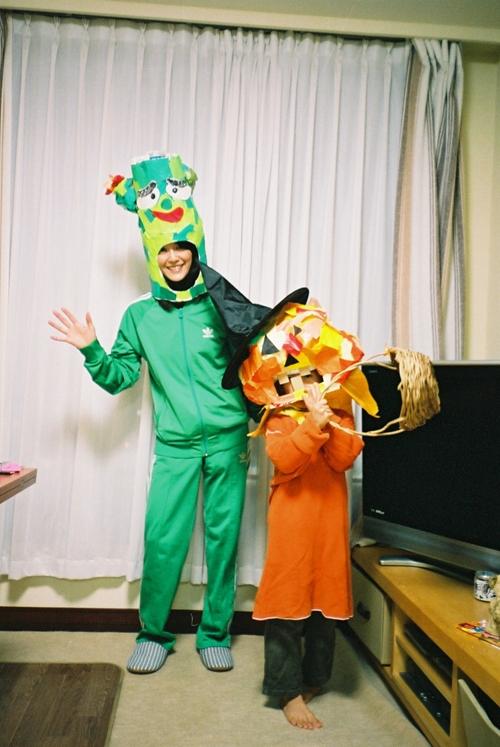 サボさんとかぼちゃ