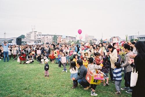 もみじ市パレード