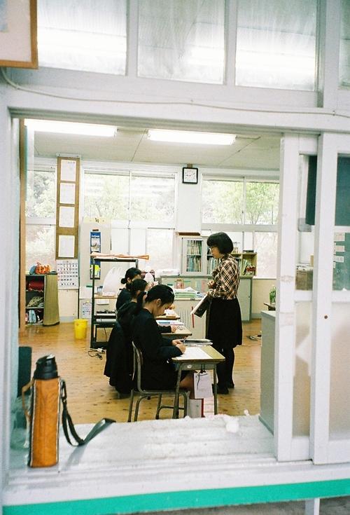 薩川小学校授業風景