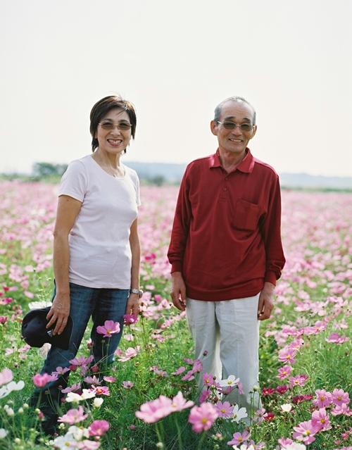 父さんと母さんの写真