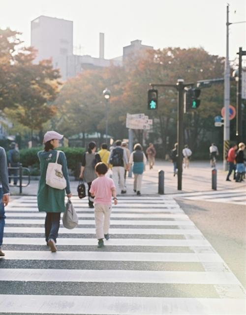 横浜の交差点