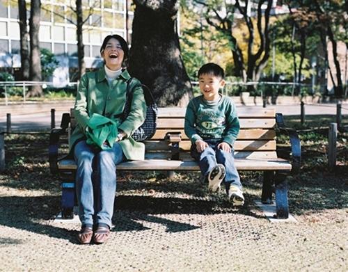 横浜公園親子