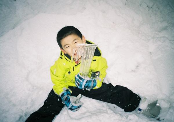 志賀高原で初スキー