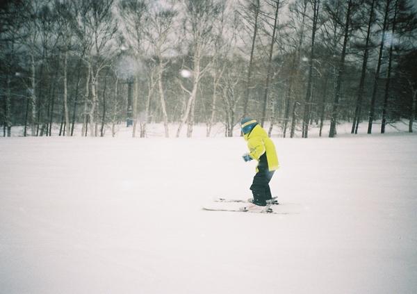 ガキのスキー