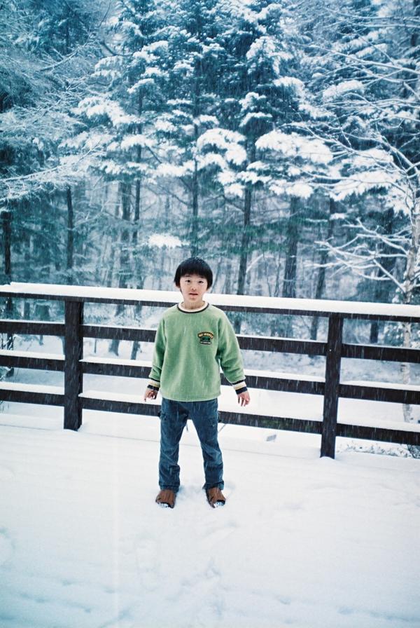 軽井沢の雪