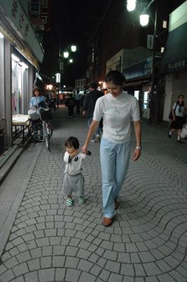 母親と合流