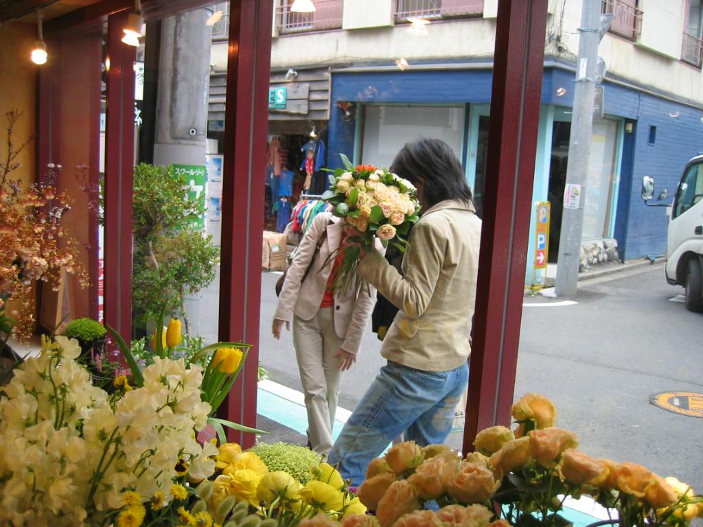 お気に入りの花屋