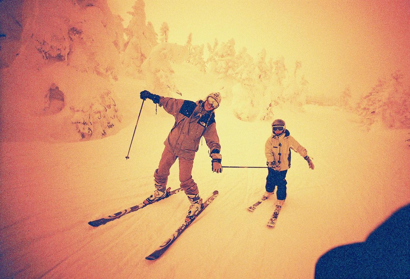 これからスキーの季節